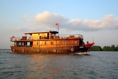 Mekong Cruise Trips (group 1-2 paxs)