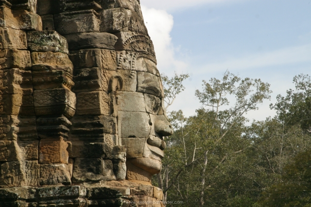 Bayond temple in siemreap