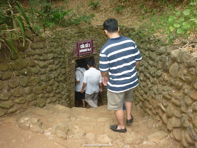 The Vinh Moc Tunnels at DMZ