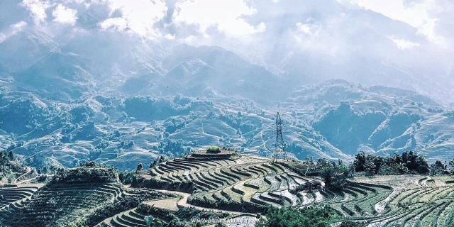 Sapa mountains, an ideal place in your Vietnam honeymoon vacations too