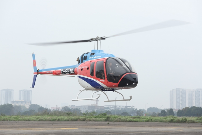 The Bell 505 Helicopter charter