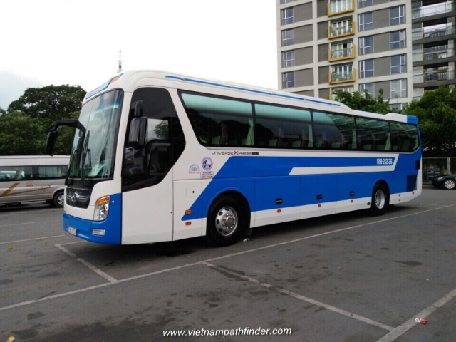 Vietnampathfinder car rental 45seats bus