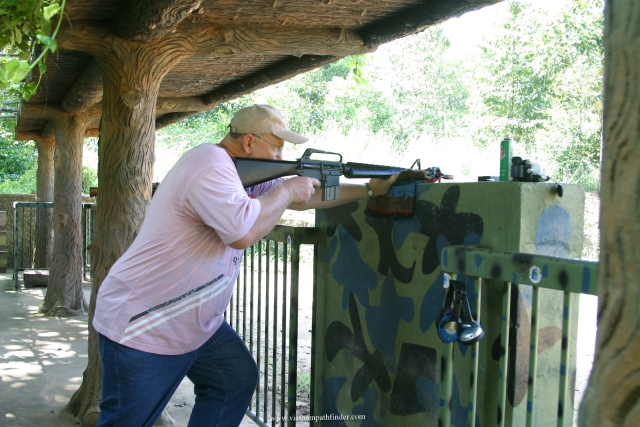 Try shot Ak47 at Cu Chi Tunnels