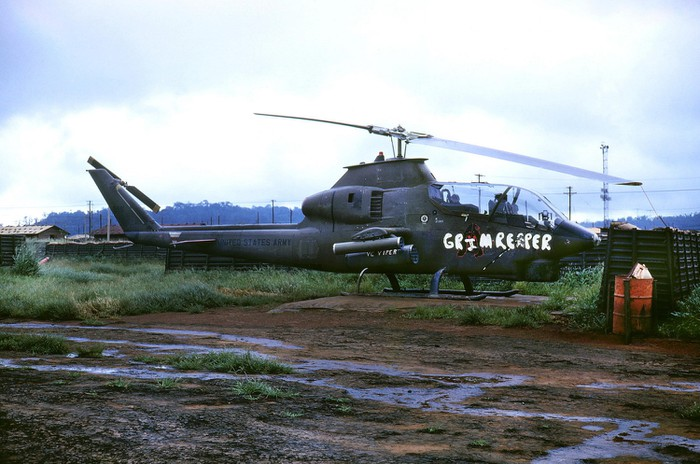 AH 1 Helicopter was used in Vietnam war