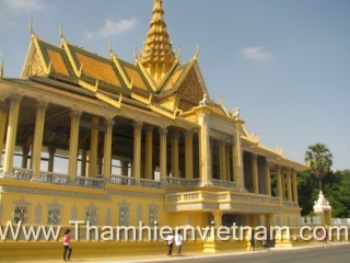 The Royal Palace - Cambodia