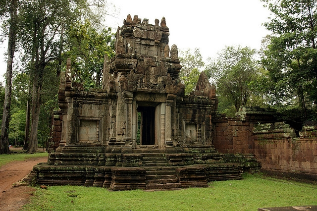 The Royal Enclosure - Cambodia